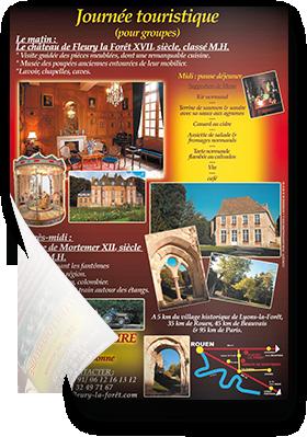 Visite du château de Fleury-la-Forêt