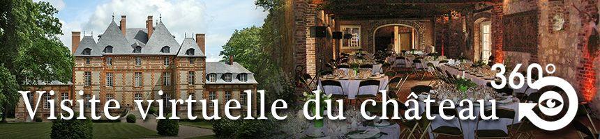 Visite virtuelle du château de Fleury-la-Forêt